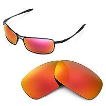 Walleva Replacement Lenses for Oakley Crosshair 2.0 Sunglasses - Multiple Options