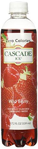 - Cascade Ice Zero Cal Sparkling Water, Wild Berry, 17.2 fl. oz. (Pack of 12)
