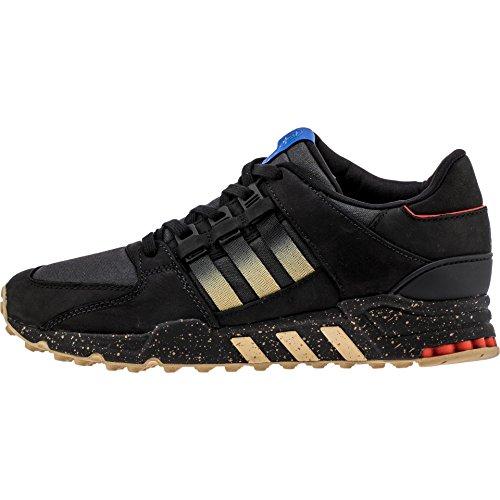 Adidas Konsortium X Hal Menn Ekvivalenter Løpende Støtte 93 (svart / Kjerne Svart / Matte Gull)