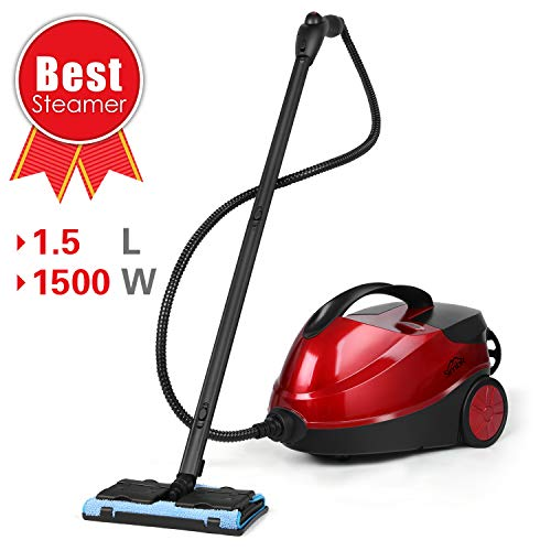 SIMBR Steam Cleaner, Steam Mop 1500W 4.5 Bar Steamer for sale  Delivered anywhere in Canada