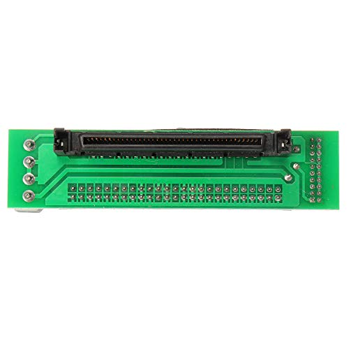 SCSI SCA 80 PIN to 50 PIN SCSI Adapter SCA 80 PIN to IDE 50 Male Hard Drive Converter ()