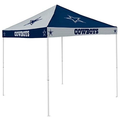 NFL Dallas Cowboys Checkerboard Tent Checkerboard Tent, Navy, One Size by Logo Brands