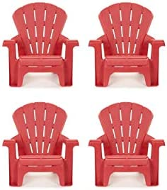 Little Tikes Garden Chair 4 Pack , Red