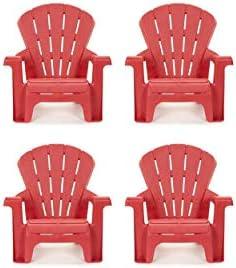 Little Tikes Garden Chair 4 Pack , Red