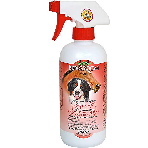 Flea Repel - Bio-Groom Repel-35 Insect/Flea/Tick Control Spray, 16-Ounce