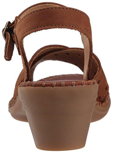 Punta Con El Zapatos Mujer Para Naturalista De Tacn Abierta N5325 wood Marrn rCwwBYnqX4
