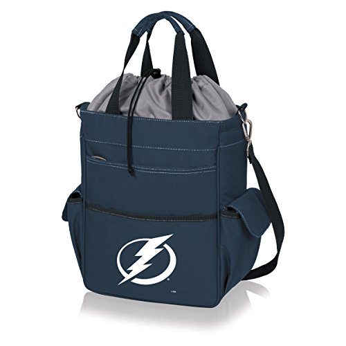 PICNIC TIME NHL Tampa Bay Lightning Insulated Active Tote, Navy by PICNIC TIME
