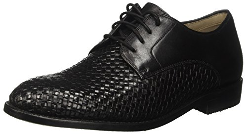Clarks Twinley Lace, Zapatos de Vestir para Hombre Negro (Black Weave)