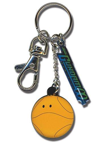 Great Eastern Entertainment Gundam 00 Haro & Logo Metal Keychain