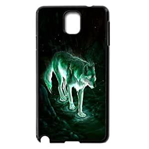 Chaap And High Quality Phone Case For Samsung Galaxy NOTE3 Case Cover -Wolf And Moon Pattern-LiShuangD Store Case 11