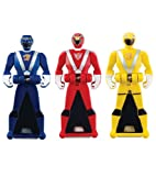 toys r us power rangers - Power Rangers Super Megaforce - RPM Legendary Ranger Key Pack, Red/Blue/Yellow