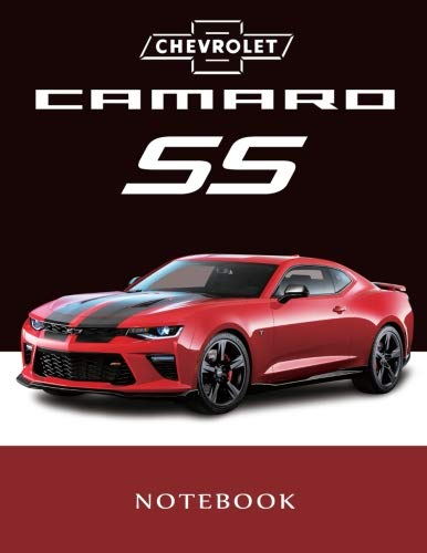 Chevrolet Camaro SS Notebook: Bumblebee / American Muscle Cars / Camaro Journal / Diary / Notebook, Lined Composition Notebook,(8.5 x 11 inches) for boys & Men (Volume 3)