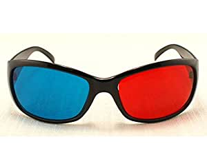 Polar Express 3D Glasses for 3D DVD-3 Pair, Plastic Extra upgrade Anaglyph