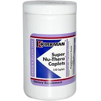 Amazon.com: Kirkman Super nu-thera caplets 540 tapas por ...
