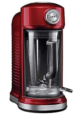 KitchenAid 5KSB5080ECA - Licuadora multifunción, 1500 W, color rojo: Amazon.es: Hogar