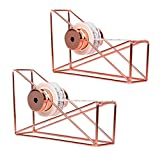 Gotian 2Pcs DIY Utility Gift Tape Cutter, Christmas Gift Wrapping Tools, Tape Dispenser Rack Cutting Gift Wrapping Machine - Makes Cuts in Seconds