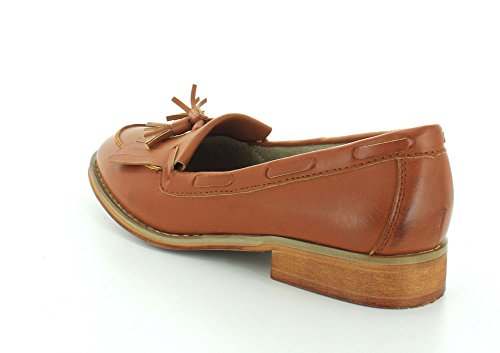 Wanted Women's Charlie Loafers Shoes Tan SL6qrU4O