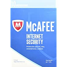 McAfee 2017 - Internet Security - 10 Devices
