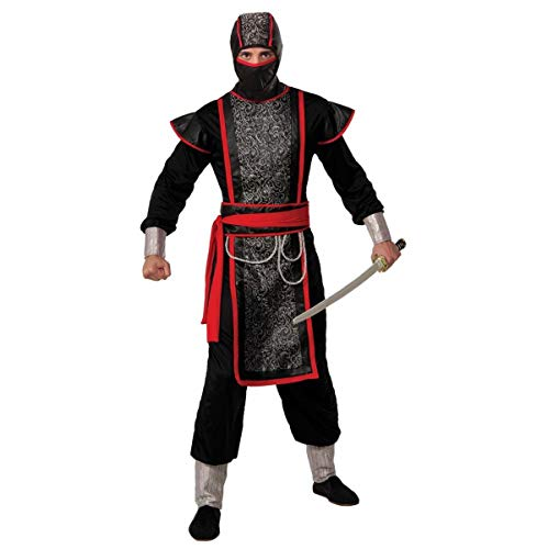 Forum Novelties Men's Ninja Master Costume with Hood, Multi, One Size -