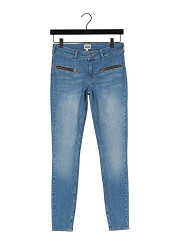amp; Blu Sid Tango Donna Slim Jeans mid Denim Blue Twist 39 Ankle HZpwngdHq