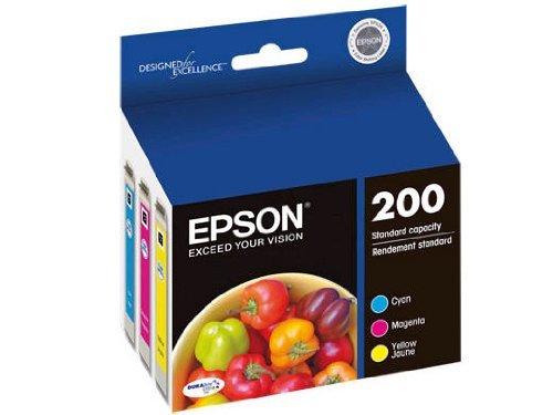 Cartridge Standard Capacity Colour (Epson T200520 DURABrite Ultra Standard-Capacity Color Multipack Ink Cartridge)