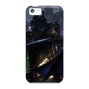 Shock-dirt Proof Batman Arkham City Case Cover For Iphone 5c