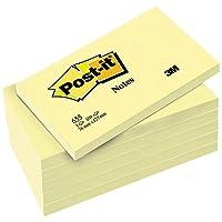 Post-it Notes jaunes 76 x 127 mm Lot de  5+1