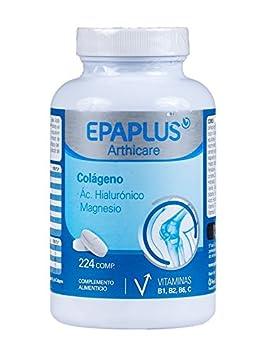 Epaplus Arthicare Colágeno Ácido Hialurónico Magnesio y Vitaminas B B B C
