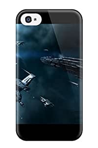 Iphone 4/4s Hard Back With Bumper Silicone Gel Tpu Case Cover Game Video Game