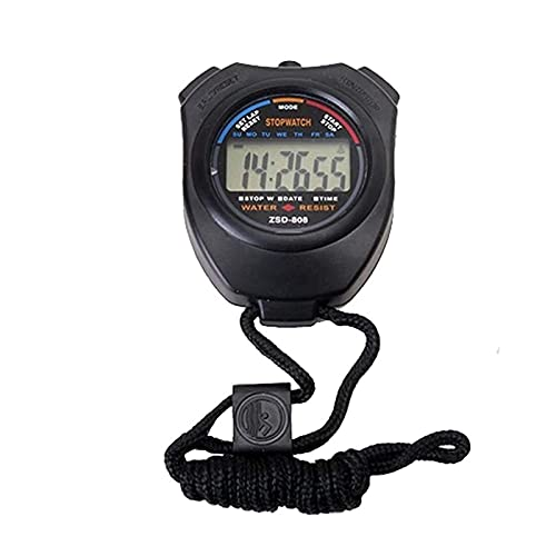 GLLP Elektronische Stopwatch Multifunctionele Sport Training Stopwatch Running Timer Op De Hals