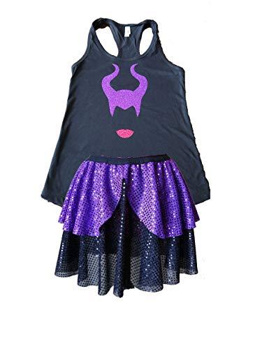 Maleficent Running Costume