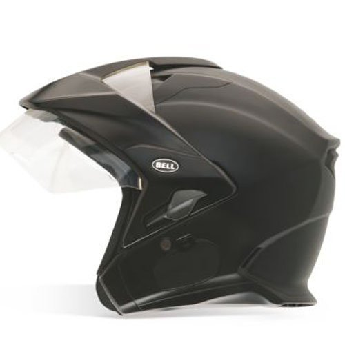 Bell Mag-9 Unisex-Adult Open face Street Helmet (Solid Matte Black, Small) (D.O.T.-Certified)
