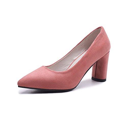 Consejos de Moda de primavera con el tamaño de la negrita, la luz los singles femeninos zapatos powderred