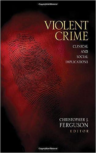 Book Violent Crime: Clinical and Social Implications (2009-01-13)