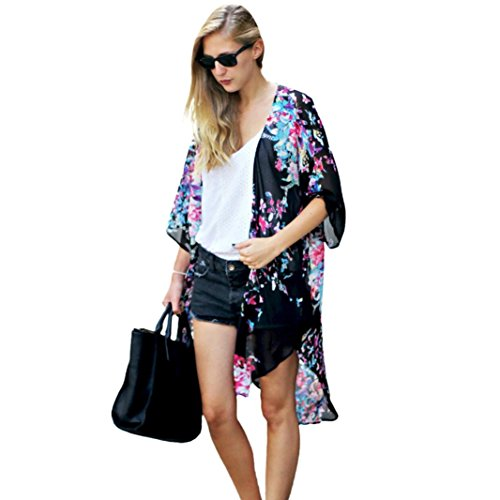 GBSELL Summer Printed Chiffon Cardigan product image