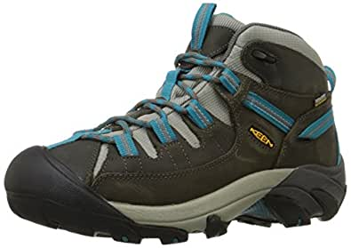 KEEN Women's Targhee II Mid WP Hiking Boot Grey Size: 5 B(M) US