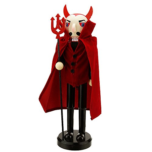 Northlight Red Devil Wooden Nutcracker, 14