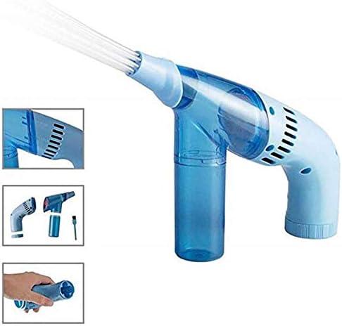 qingtang37 Portable et sans fil Aspirateur poussi/ère pour voiture Nettoyage efficace Nettoyeur de poussi/ère Aspirateur /à main Gris Bleu