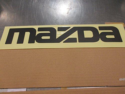 New Mazda B2000, B2200 & B2600 New OEM MAZDA Dark Gray tailgate decal UC90-51-711 60