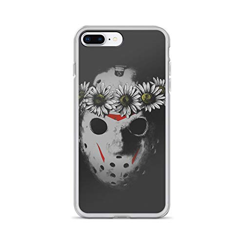 iPhone 7 Plus/8 Plus Case Anti-Scratch Motion Picture Transparent Cases Cover Friday I'm in Love Movies Video Film Crystal Clear