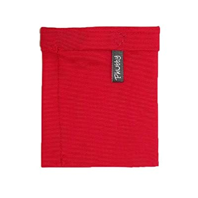 Phubby Sport - The Wrist Cubby/Arm Wallet for Phone/iPod, Large, Red