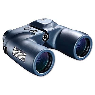 Bushnell 7X50 Marine Waterproof w/Compass Binoculars + Accessory Package - Bushnell ABUS7X50MWPK1