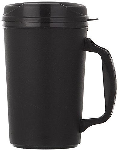 ThermoServ 520A01301A1 Foam Insulated Mug, 20-Ounce, Black