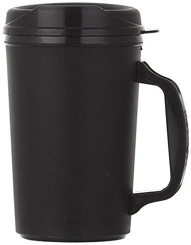 - ThermoServ 520A01301A1 Foam Insulated Mug, 20-Ounce, Black