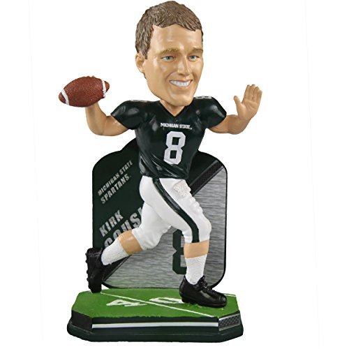 Forever Collectibles Kirk Cousins Michigan State Spartans Special Edition College Name and Number Bobblehead