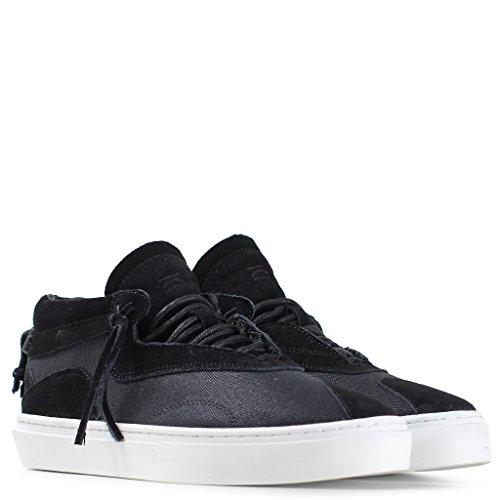 Clear Weather Everest Midtop Sneaker in Black