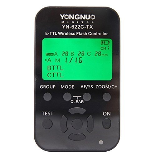 YONGNUO YN-622C-TX E-TTL Wireless Flash Controller for Canon by Yongnuo