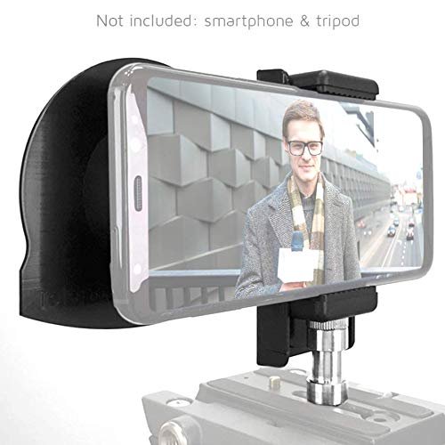TP-Smartclip Accessory for Parrot teleprompter 1 & 2 [Prompter not Included]. Record Video with Your Smartphone on a Parrot Teleprompter by TELEPROMPTER PAD (Image #3)