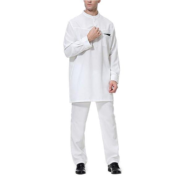 Musulman Caftan Hombre Camisas Arabes - Abaya Kaftan Vestido ...