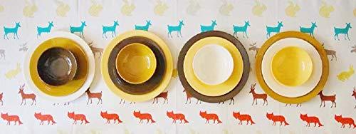 (Bowla 12-Piece Melamine Dinnerware Set - Service for 4 (Autumn))